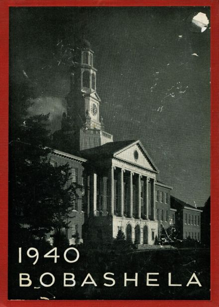 1940 Trenton Central High School Yearbook Cover