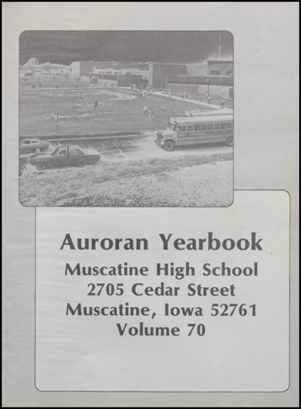 1977 Muscatine High School Yearbook Page 5
