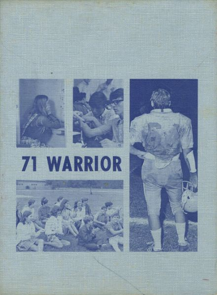 1971 R. B. Stall High School Yearbook Cover