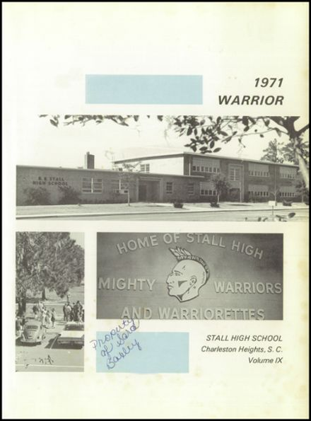 1971 R. B. Stall High School Yearbook Page 5