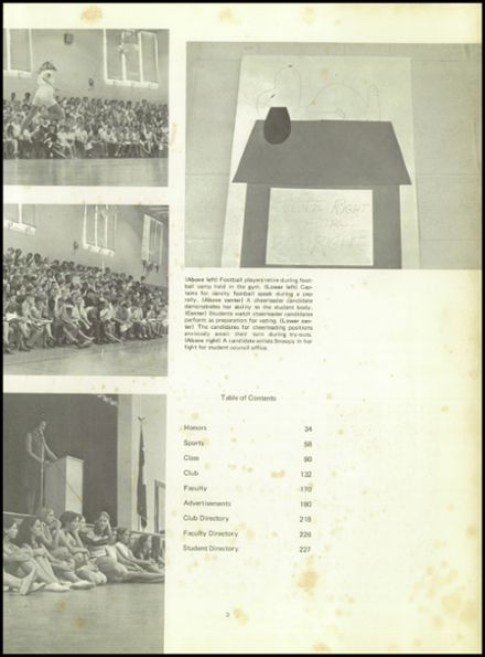 1971 R. B. Stall High School Yearbook Page 7