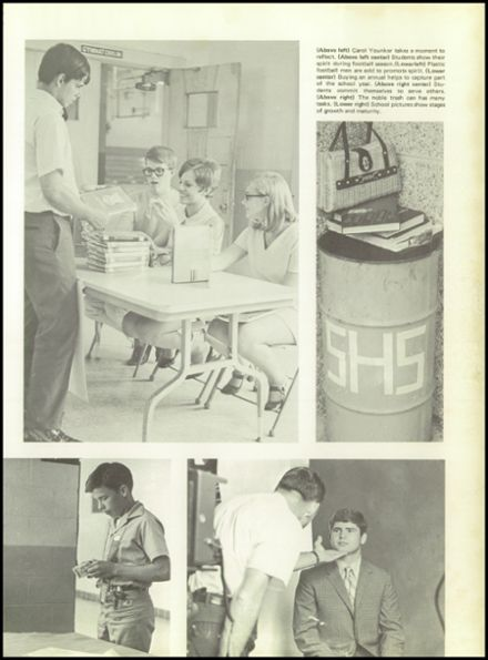 1971 R. B. Stall High School Yearbook Page 9
