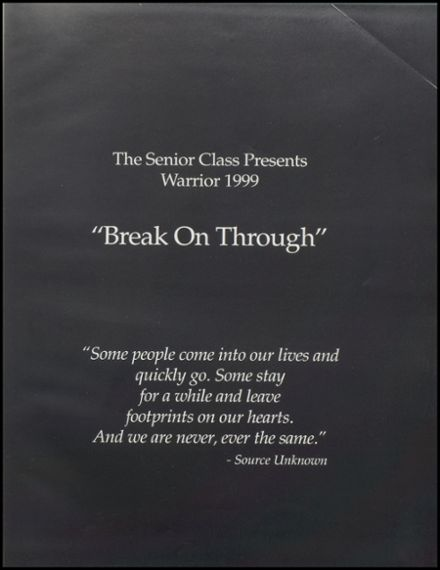 1999 Stillwater High School Yearbook Page 5