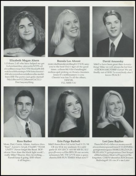 1999 Stillwater High School Yearbook Page 8
