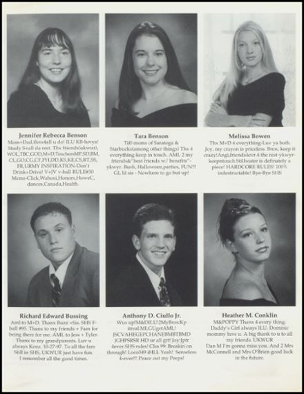 1999 Stillwater High School Yearbook Page 9