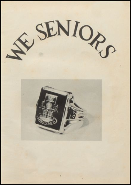 1947 Harrison High School Yearbook Page 7