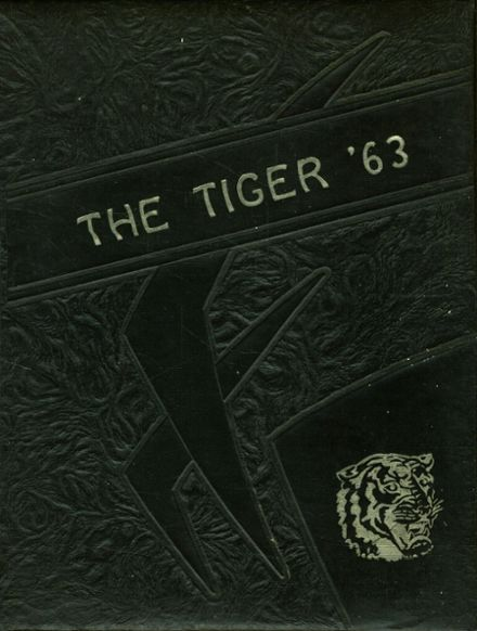 1963 Red Level High School Yearbook Cover