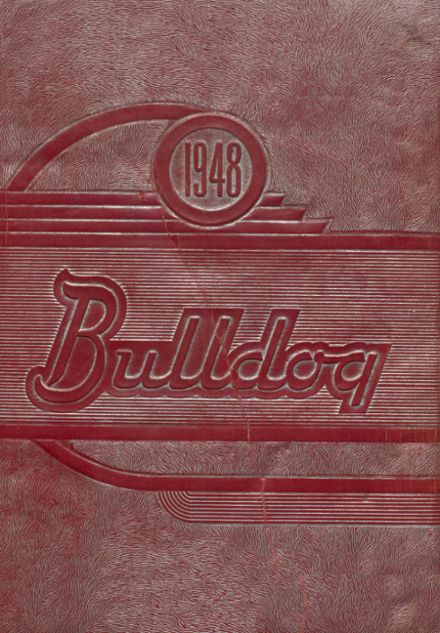 1948 Jay High School Yearbook Cover