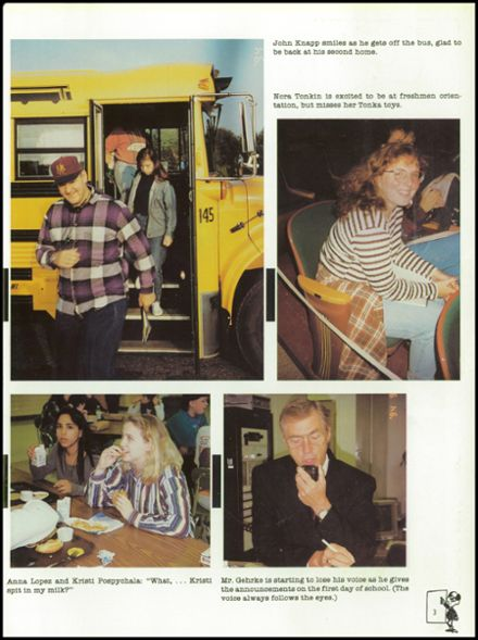 1995 Rhinelander High School Yearbook Page 7