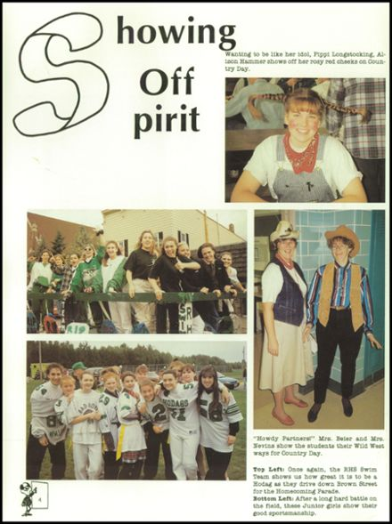 1995 Rhinelander High School Yearbook Page 8