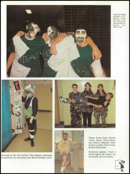 1995 Rhinelander High School Yearbook Page 9