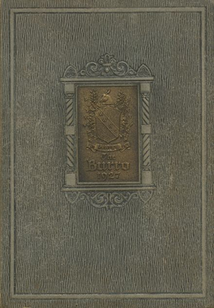 1927 Mineral Wells High School Yearbook Cover
