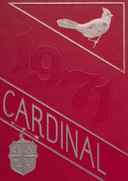 1971 Taylor County High School Yearbook Cover