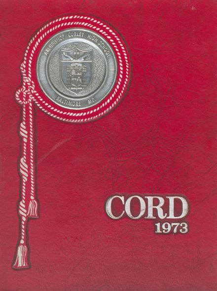 1973 Archbishop Curley High School Yearbook Cover