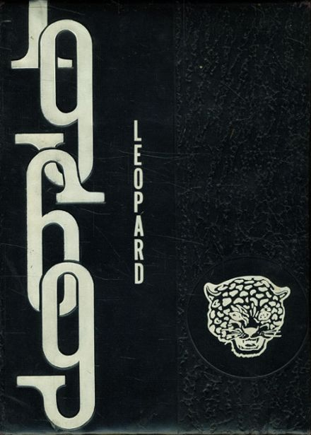 1969 Booker T. Washington High School Yearbook Cover