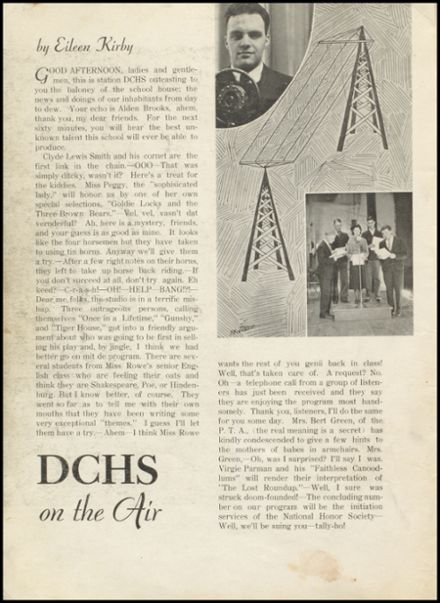 1935 Dodge City High School Yearbook Page 8