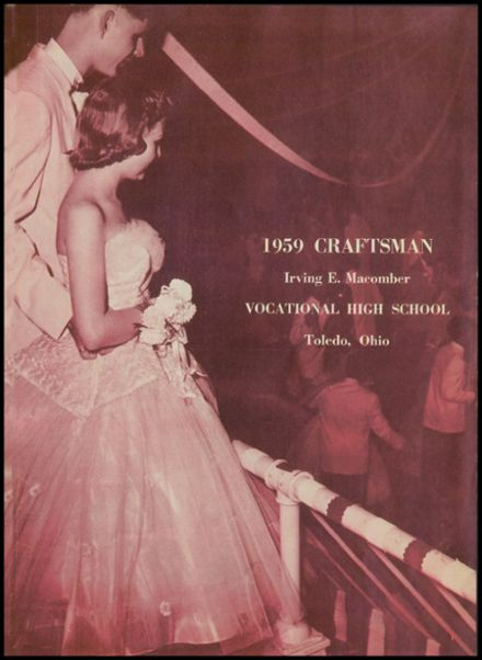 1959 Macomber Vocational High School Yearbook Page 5