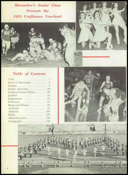 1959 Macomber Vocational High School Yearbook Page 6
