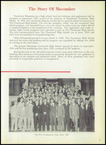 1959 Macomber Vocational High School Yearbook Page 7