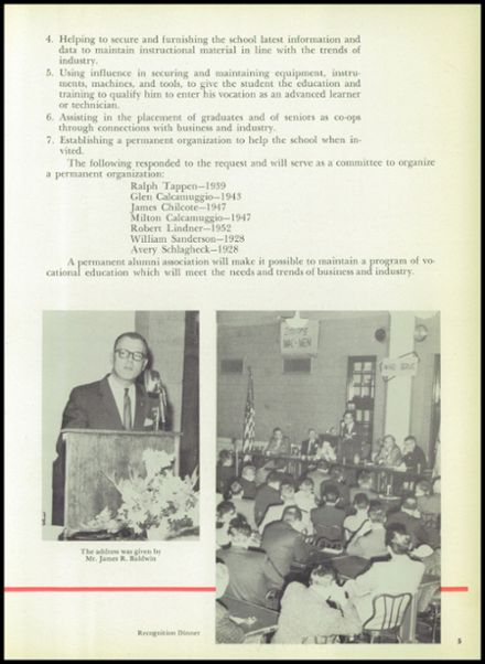 1959 Macomber Vocational High School Yearbook Page 9