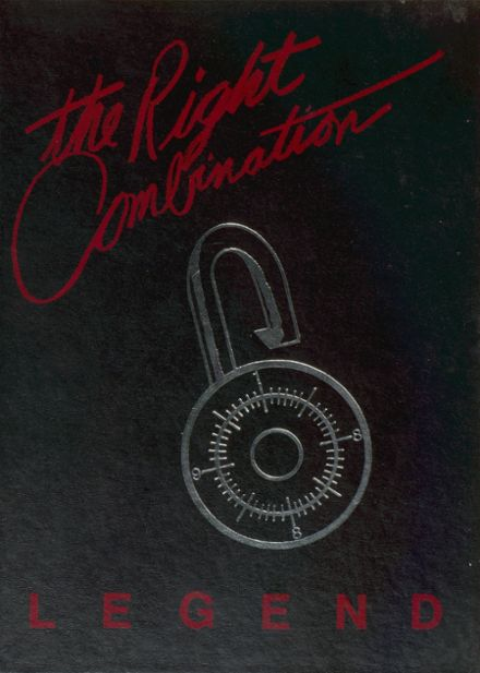 1988 West Snyder High School Yearbook Cover