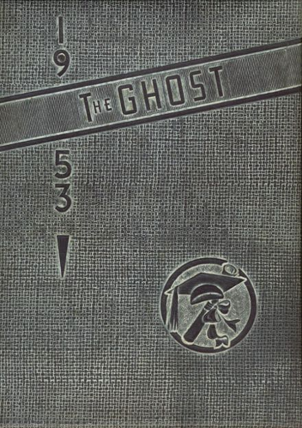 1953 Oelwein High School Yearbook Cover