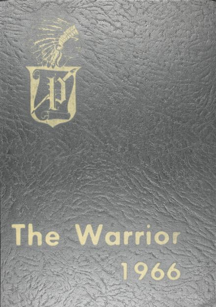 1966 Pontotoc High School Yearbook Cover