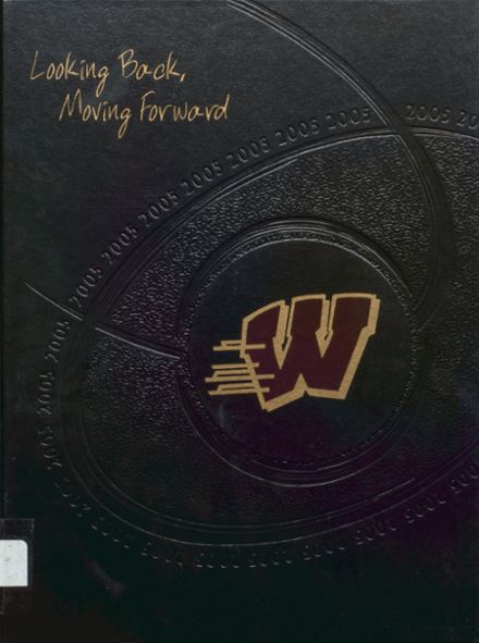 2005 Whitehall High School Yearbook Cover