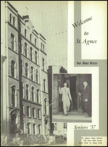 Explore 1957 St  Agnes Boys High School Yearbook, New York