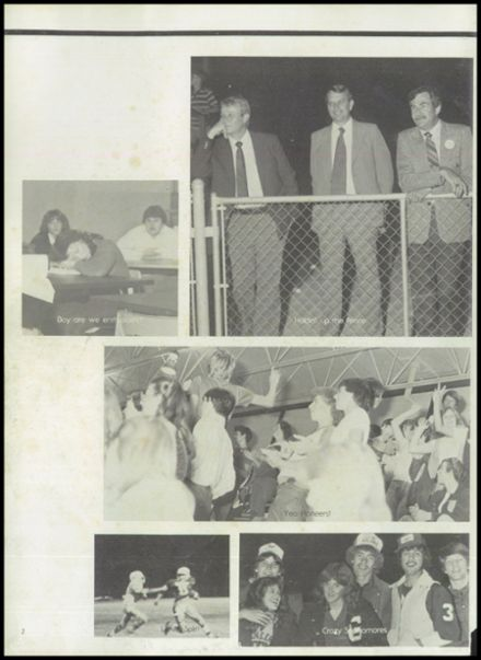 1982 Gentry High School Yearbook Page 6