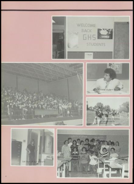 1982 Gentry High School Yearbook Page 8