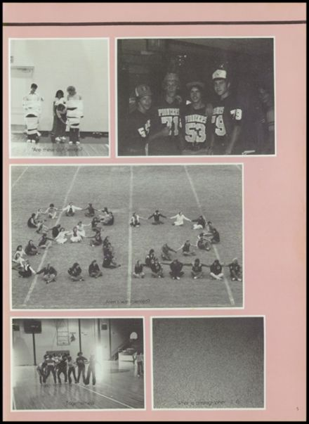 1982 Gentry High School Yearbook Page 9