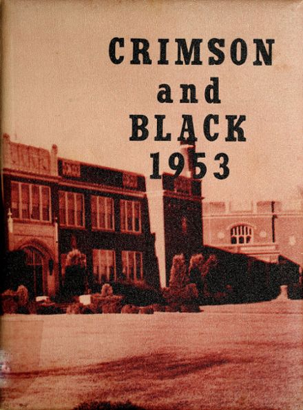 1953 Mcloughlin Union High School Yearbook Cover
