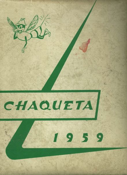 1959 Franklin High School Yearbook Cover
