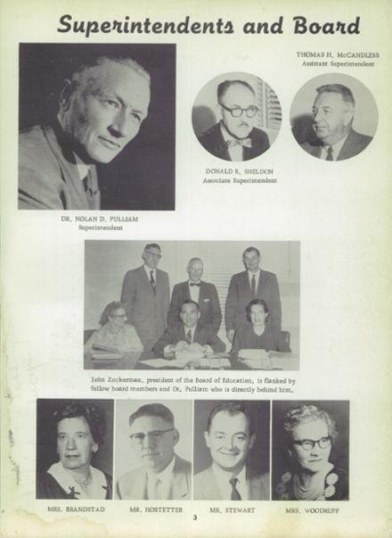 1959 Franklin High School Yearbook Page 7