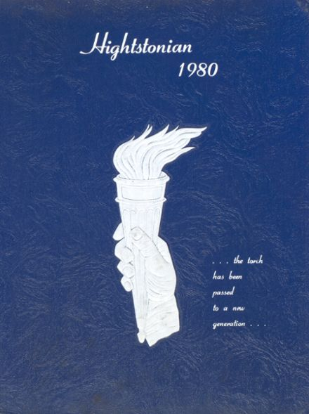 1980 Hightstown High School Yearbook Cover