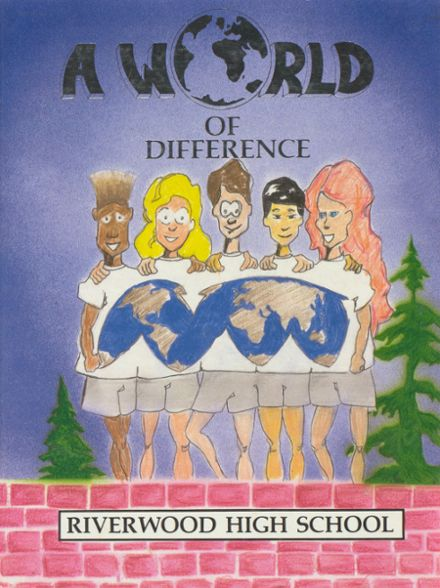 1991 Riverwood High School Yearbook Cover