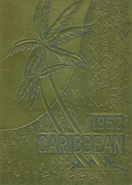 1952 Cristobal High School Yearbook Cover