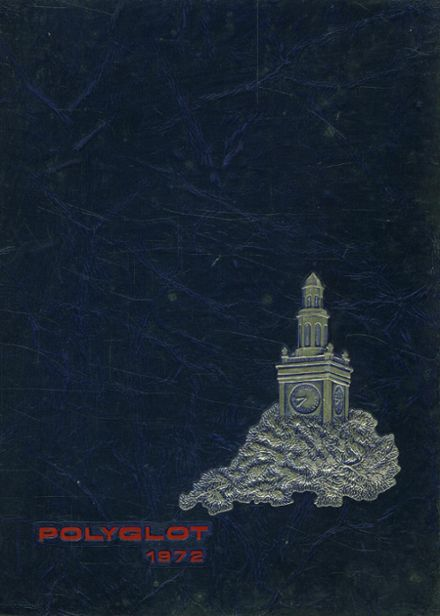1972 Polytechnic High School Yearbook Cover