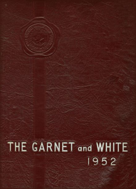 1952 West Chester High School Yearbook Cover