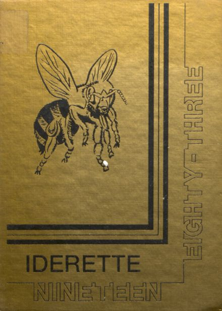 1983 Ider High School Yearbook Cover