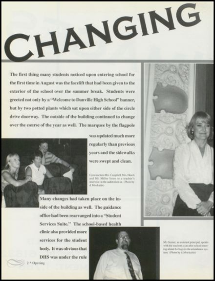 1997 Danville High School Yearbook Page 6
