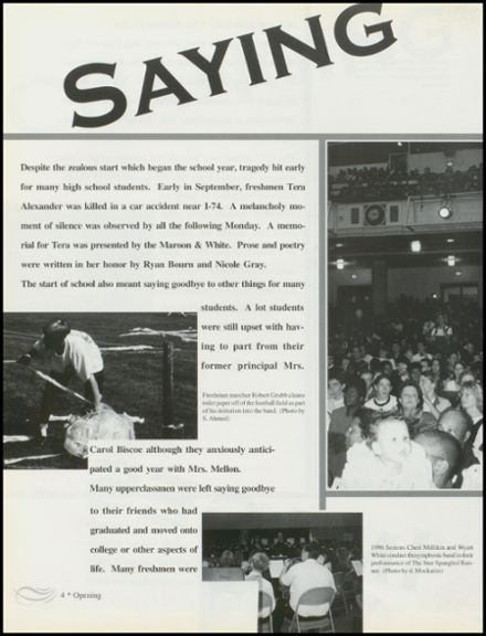 1997 Danville High School Yearbook Page 8