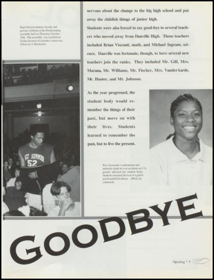 1997 Danville High School Yearbook Page 9