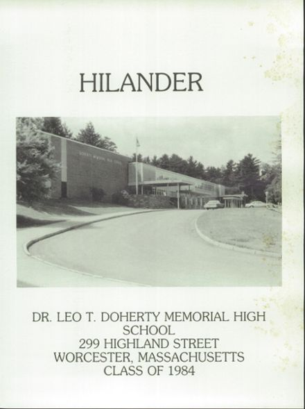 Explore 1984 Doherty Memorial High School Yearbook Worcester Ma