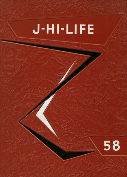 1958 Jefferson Area High School Yearbook Cover