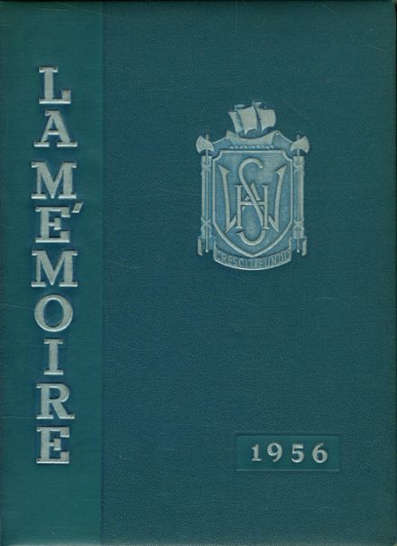 1956 Williamsport High School (closed) Yearbook Cover