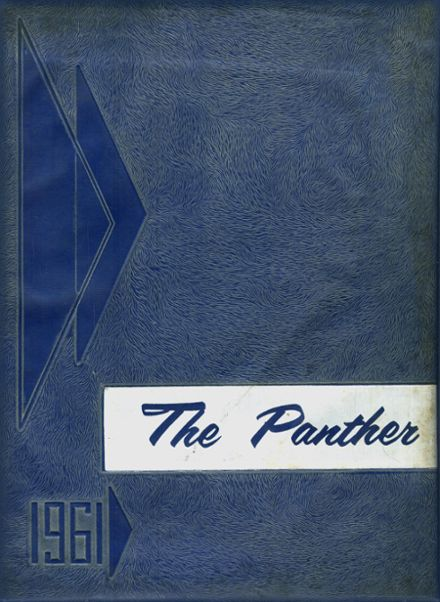 1961 Sterlington High School Yearbook Cover