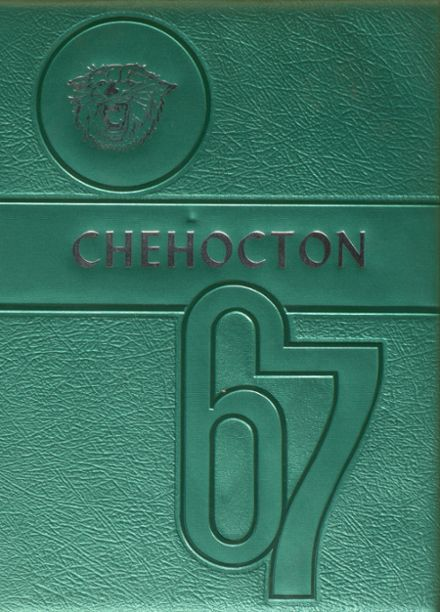 1967 Hancock Central High School Yearbook Cover