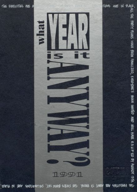 1991 Dobson High School Yearbook Cover